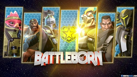 Battleborn Join the Peacekeeper Faction Wallpaper