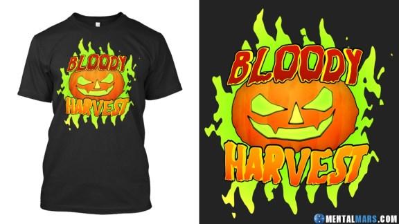 Bloody Harvest Halloween Shirt