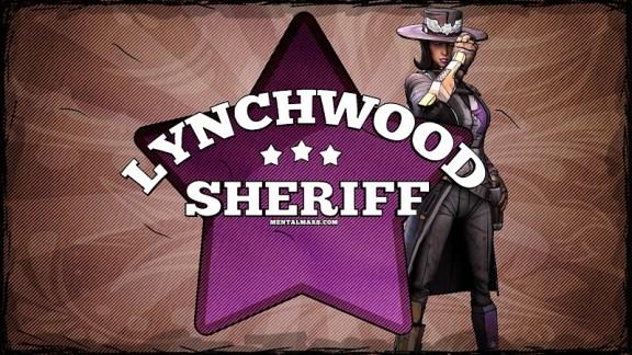 Borderlands 2 Sheriff Badge Wallpaper