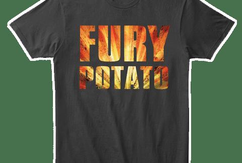 Fury Potato Shirt by MentalMars
