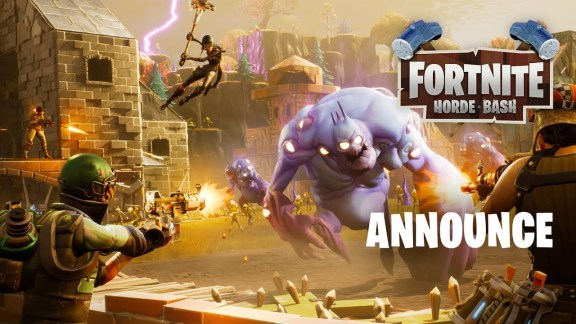 Horde Bash Annoucement - Fortnite