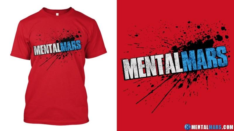 MentalMars Splatter Premium Shirt
