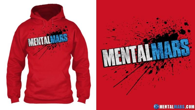 MentalMars Splatter Premium hoodie