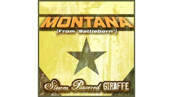 Battleborn - Montana - Steam Powered Giraffe