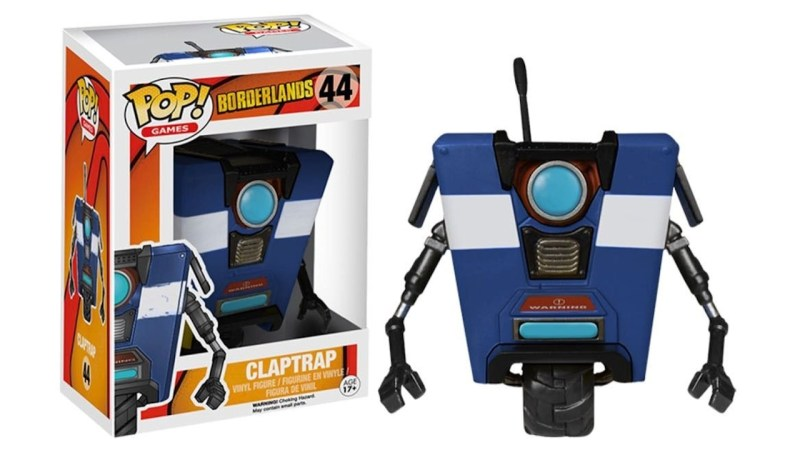 Borderlands Blue Claptrap Funko POP Games Action Figure