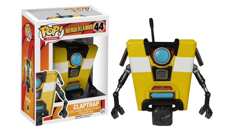 Borderlands Claptrap Funko POP Games Action Figure