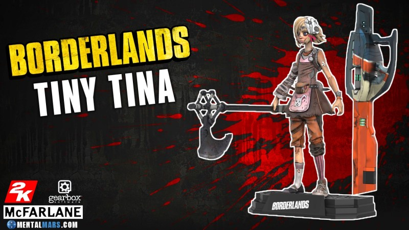 McFarlane Toys Borderlands Tiny Tina Action Figure