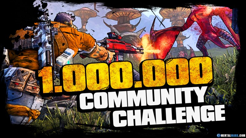 1.000.000 Dollar Race - Borderlands Community Challenge