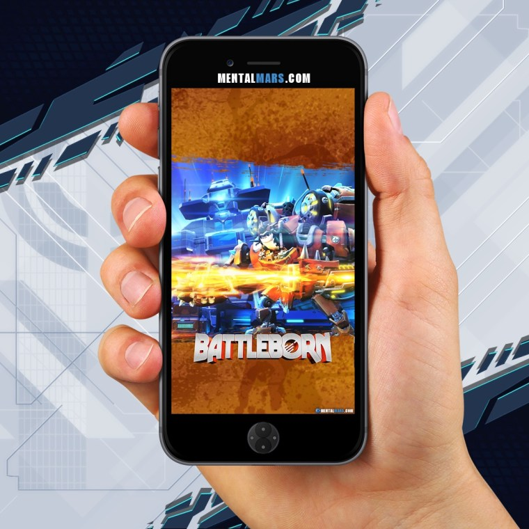 Battleborn Friendship Raid Wallpaper - Mobile Preview