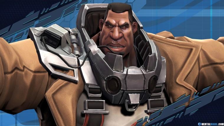 Ghalt UPR Battleborn Character