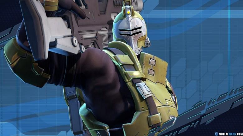 Oscar Mike UPR Battleborn Character