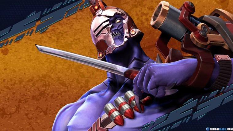 Whiskey Foxtrot Rogue Battleborn Character