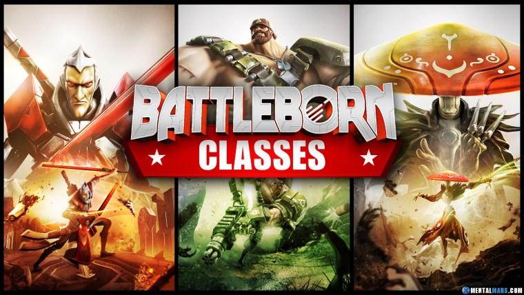 Battleborn Character Classes