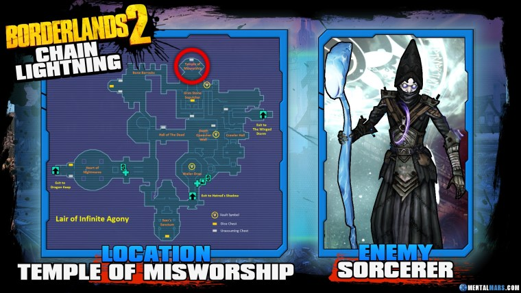 Borderlands 2 Legendary Chain Lightning Location Guide