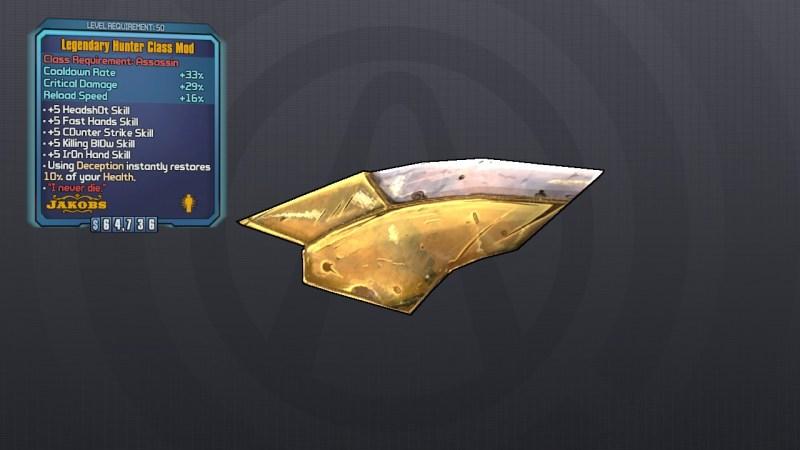 Legendary Hunter Class Mod - Borderlands 2