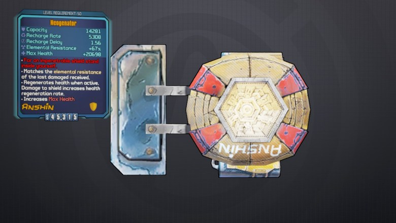Legendary Neogenator - Borderlands 2