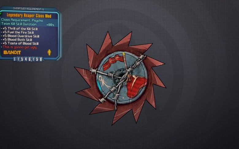 Legendary Reaper Class Mod - Borderlands 2