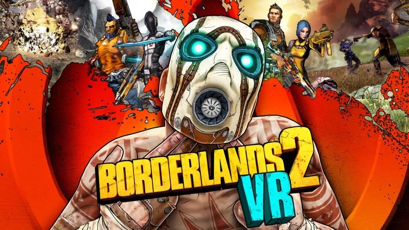 Borderlands 2 VR Keyart