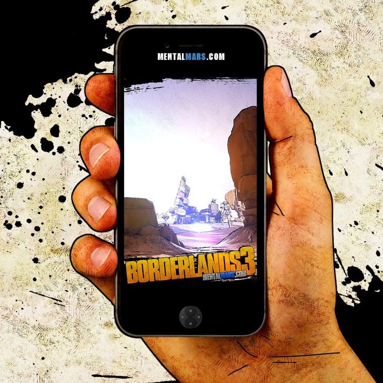 Badlands Mobile Wallpaper - Borderlands 3