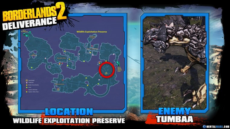 Borderlands 2 Legendary Deliverance Location Guide