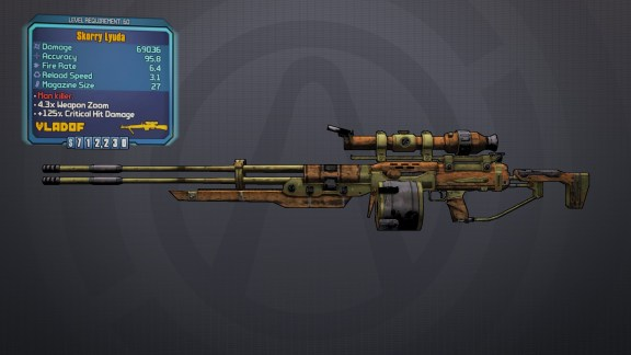 Legendary Lyuda - Borderlands 2