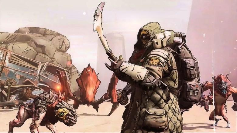 Flak the Beastmaster - Borderlands 3 Character