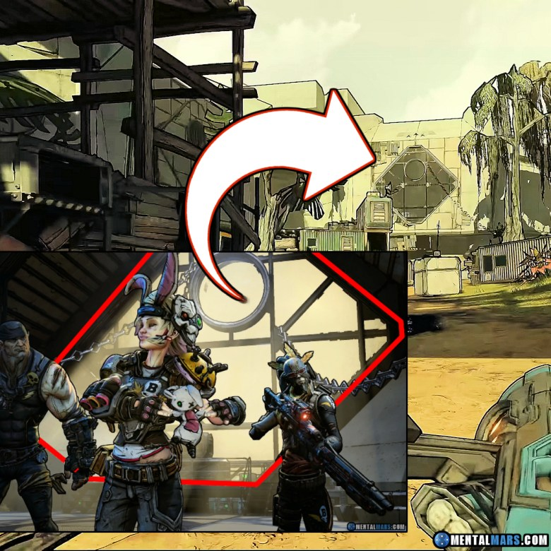 Tina, Brick, and Mordecai (B-Team) can be found in this location - Borderlands 3