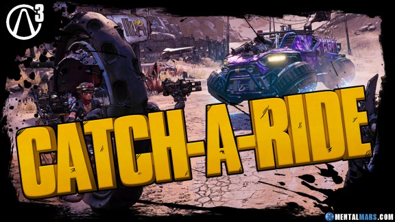 Borderlands 3 'Catch-a-Ride' Vehicles