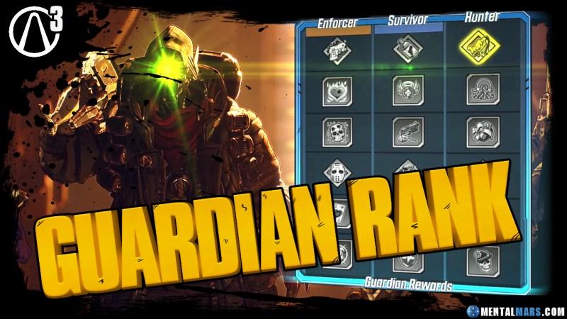 Guardian Rank Explained - Borderlands 3
