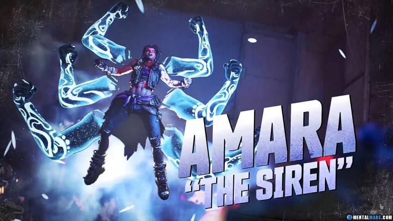 Amara the Siren - Borderlands 3 Character Profile