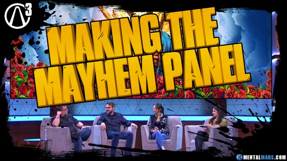 Borderlands 3 Making the Mayhem Panel E32019