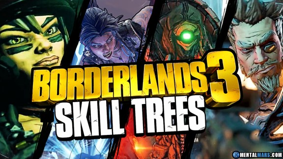 Borderlands 3 Skill Trees Overview