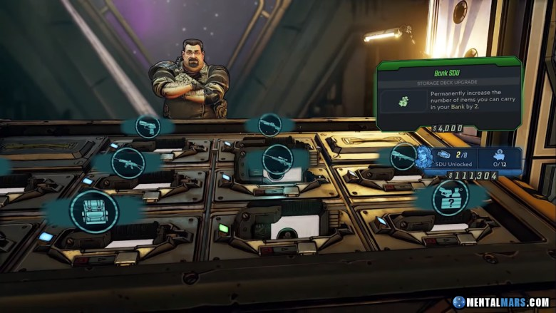 Marcus Munitions SDU Store in Borderlands 3