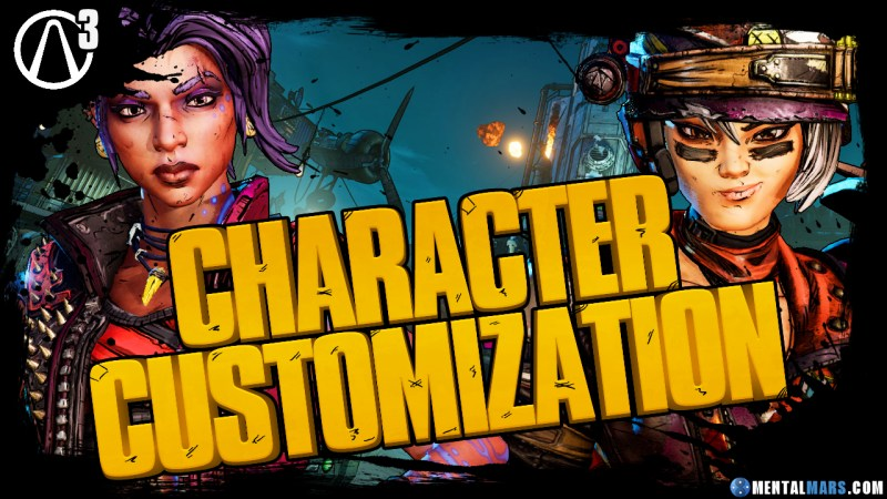 Borderlands 3 Character Customization