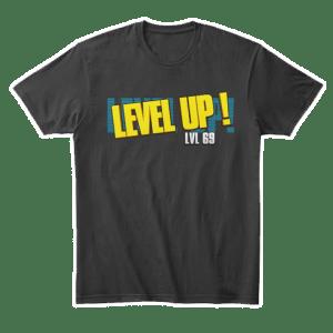 Level Up Merchandise by MentalMars