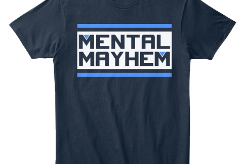 Mental Mayhem Merchandise by MentalMars