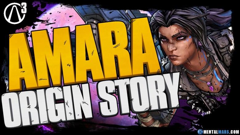 Amara Origin Story Echolog - Borderlands 3