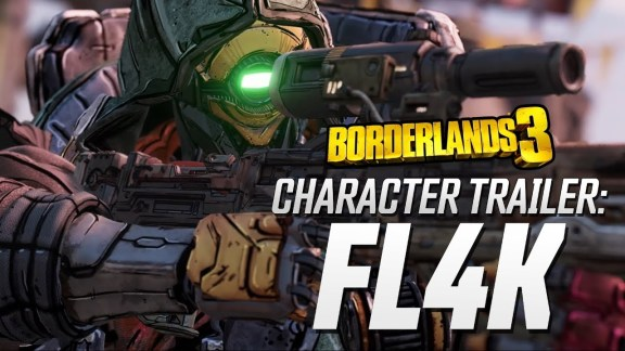 FL4K Character Trailer - Borderlands 3