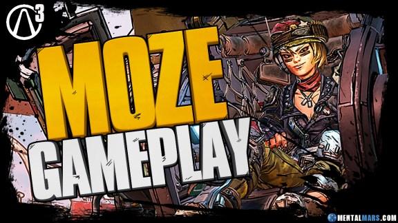 Moze Gameplay Mouthpiece - Borderlands 3