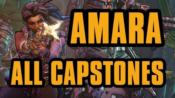 Amara - All Capstone Skills - Borderlands 3