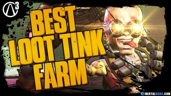 Best Loot Tink Farm Location in Borderlands 3
