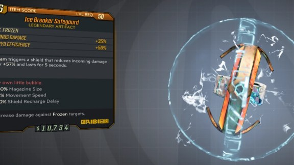 Borderlands 3 Legendary Eridian Artifact - Safeguard