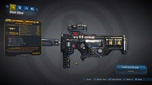 Borderlands 3 Legendary Tediore SMG - Long Musket