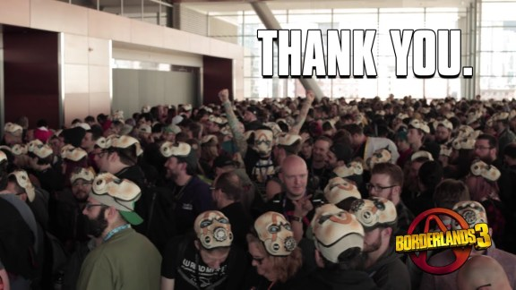 Gearbox Thanks You - Borderlands 3