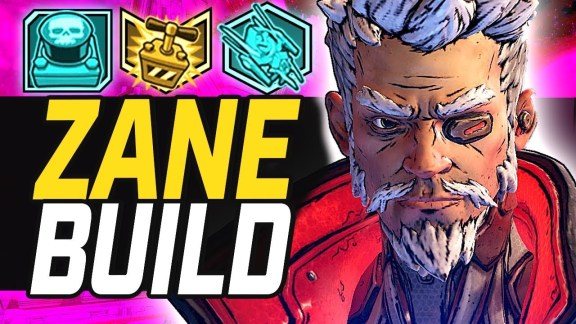 "Zane ""Crazy Superspeed High DPS Hitman"" build by RyanCentral - Borderlands 3"