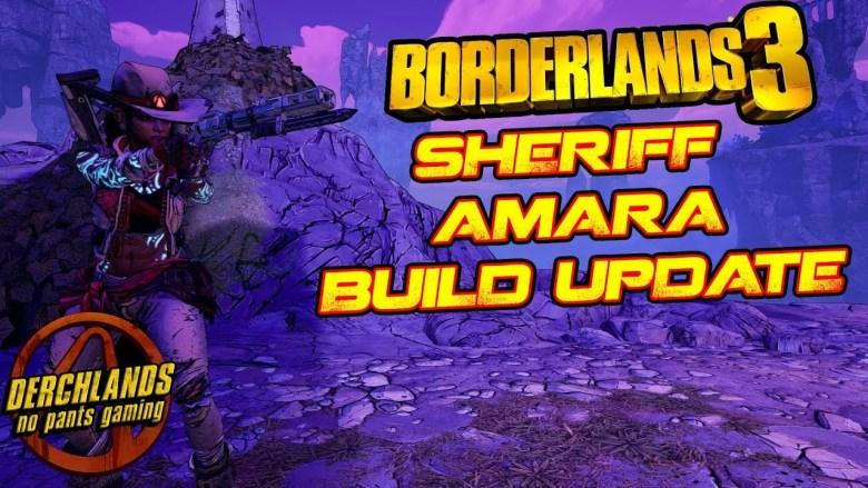 Amara - Sheriff Build - Borderlands 3