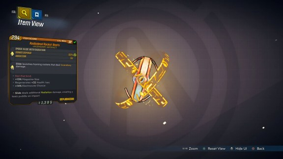 Borderlands 3 Legendary Eridian Artifact - Rocket Boots
