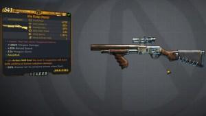 Borderlands 3 Legendary Jakobs Shotgun - One Pump Chump