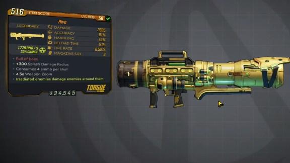 Borderlands 3 Legendary Torgue Rocket Launcher - Hive