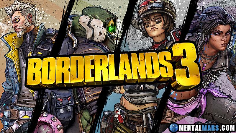 Borderlands 3 Wallpaper - The 4 Vault Hunters - Preview